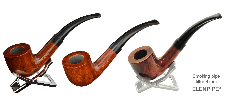 Briar smoking pipe 240 Elenpipe